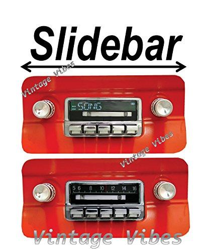 Custom 1964-1966 Mustang 300 watt Slidebar AM FM Car Ster...