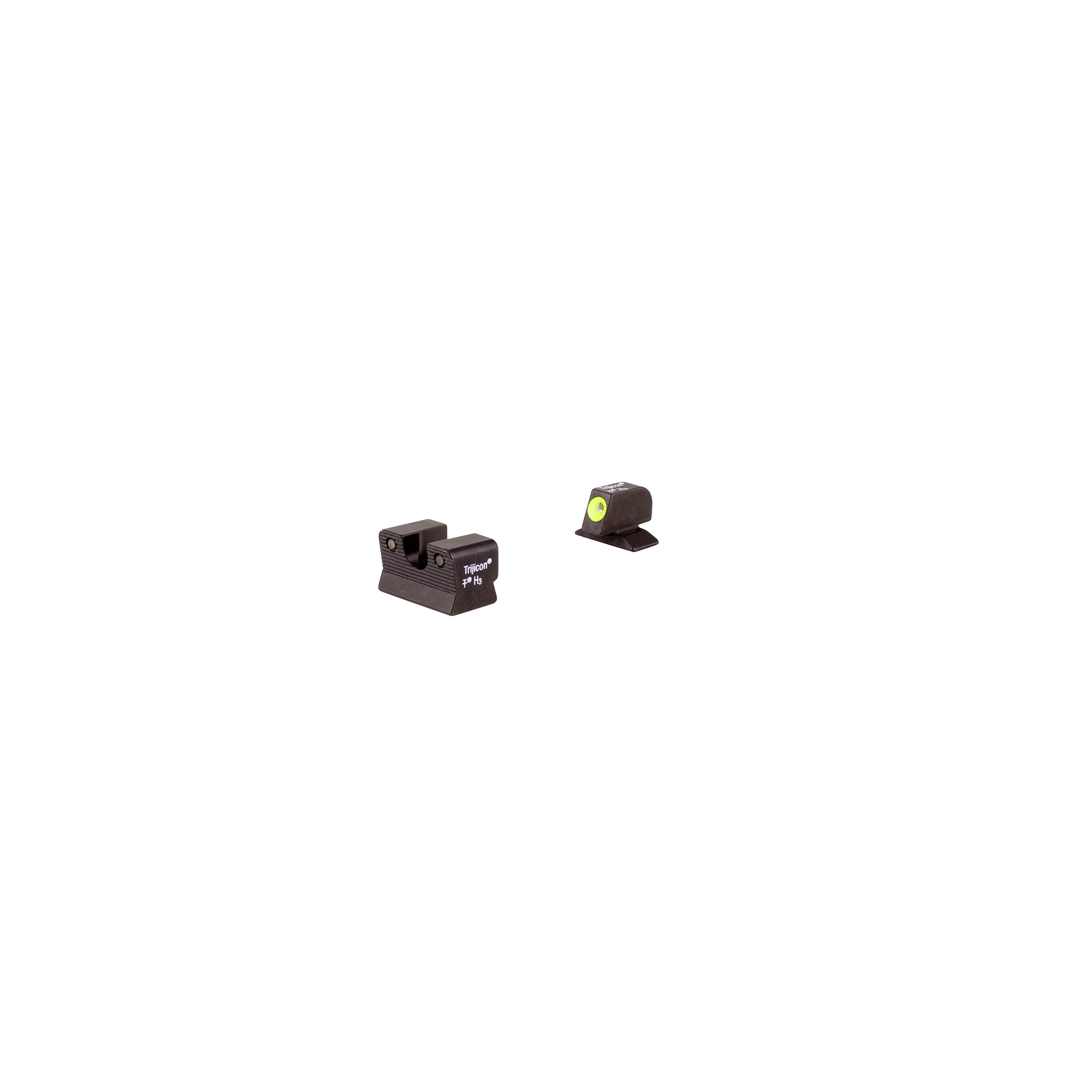 Trijicon Beretta HD Night Sight Set 92 96A1 Models, Yellow Front Outline Lamp by Trijicon