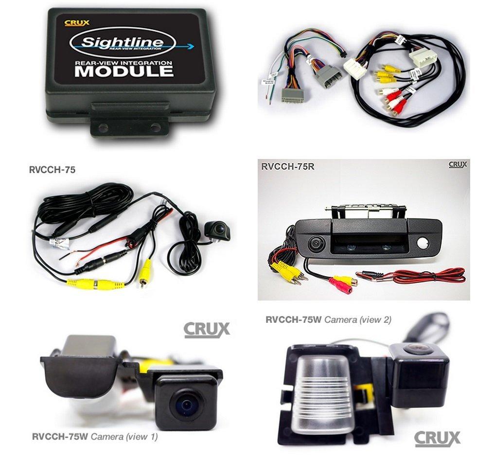 Crux RVCCH-75 Rear-View Camera Integration Kit