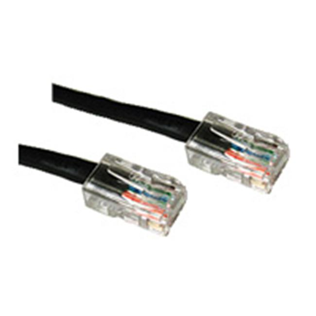 14ft CAT 5E CROSSOVER PATCH CABLE BLACK - image 1 de 1