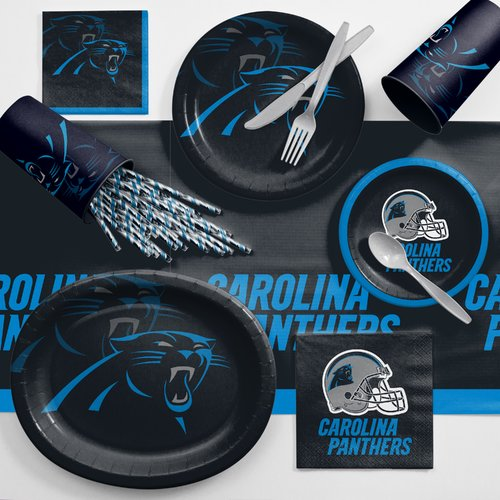 Carolina Panthers Ultimate Fan Party Supplies Kit