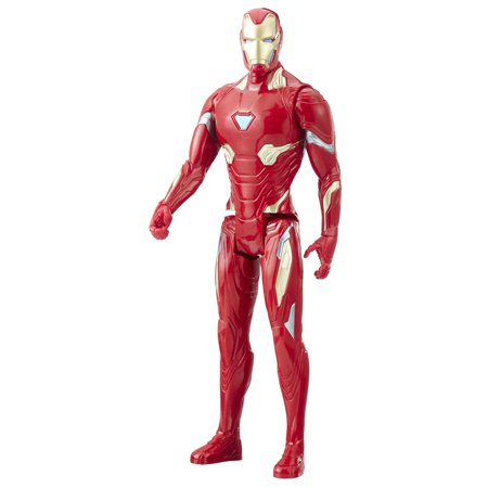 Iron Man Civil War (Marvel Infinity War Titan Hero Series Iron Man with Titan Hero Power FX)