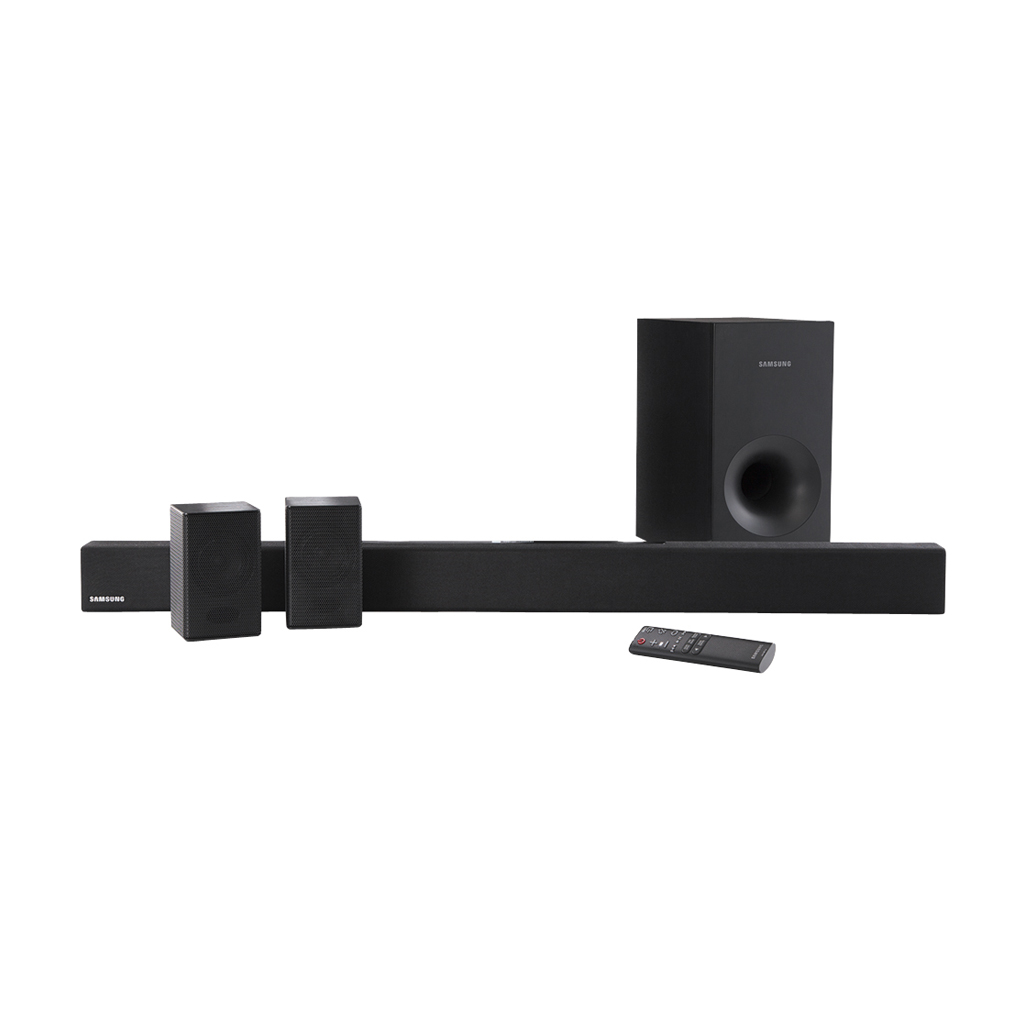 Samsung 4.1 Channel 200W Soundbar System with Wireless Subwoofer - HW- KM38