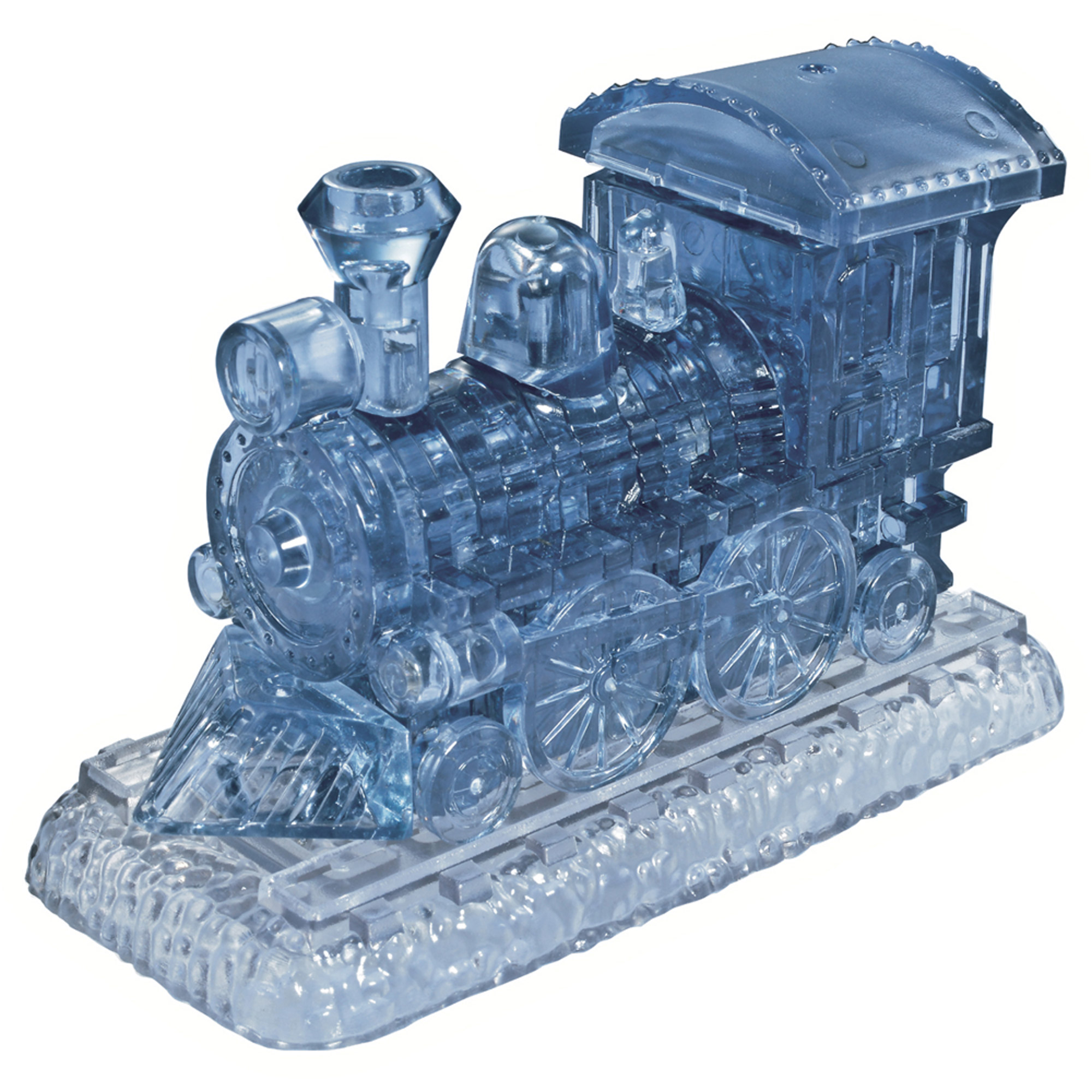 3D Crystal Puzzle Locomotive Puzzle, 38 Pieces