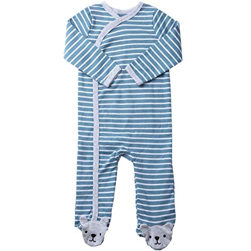 Footie Side Snap Footie. Baby Boys Footed Pajamas Sleepers