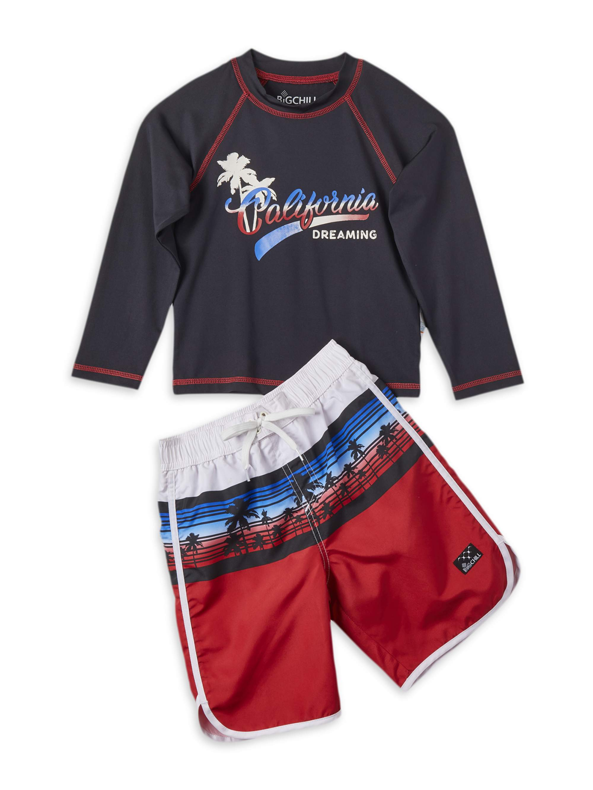 2 Piece Infant Boys Print Swim Set Swimwear Top Shorts 13 Yrs, Star Wars