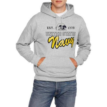 - Navy Officially Men's Licensed Fleece Hoodie