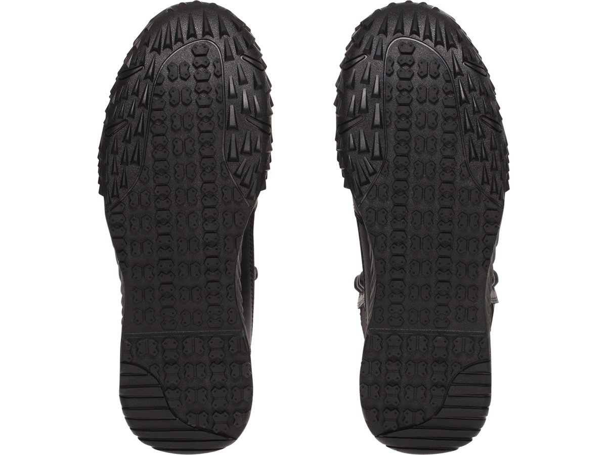 "Under Armour 1268951 Men's Black 8"" Low Profile Stellar Leather Boots - Size 8"