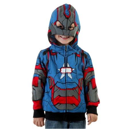 Toddler Iron Patriot Costume Hoodie