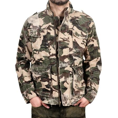 - Jordan Craig Shredded Field Jacket
