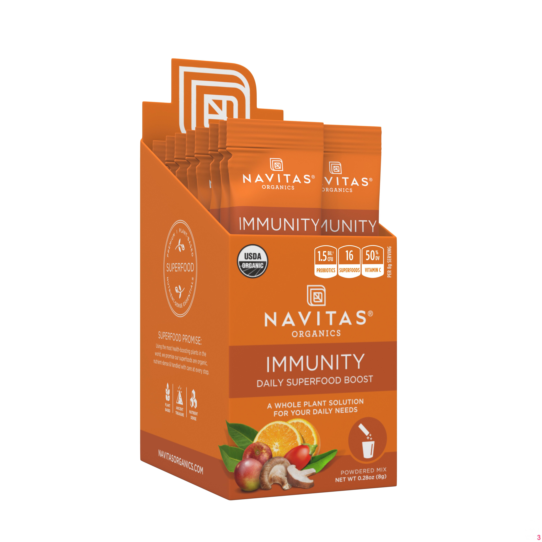 Navitas Organics Daily Immunity Boost Stick-Pack, 0.28 oz., 15 ct