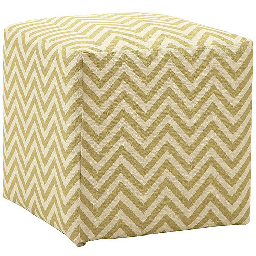 Allegro Ziggi Cube Ottoman, Multiple Colors