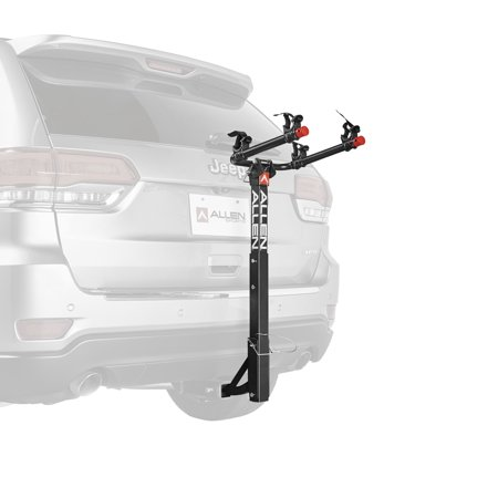 Allen Sports Deluxe 2-Bicycle Hitch Mounted Bike Rack Carrier, 522RR ()