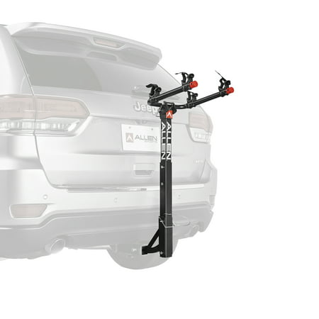 Allen Sports Deluxe 2-Bicycle Hitch Mounted Bike Rack Carrier,