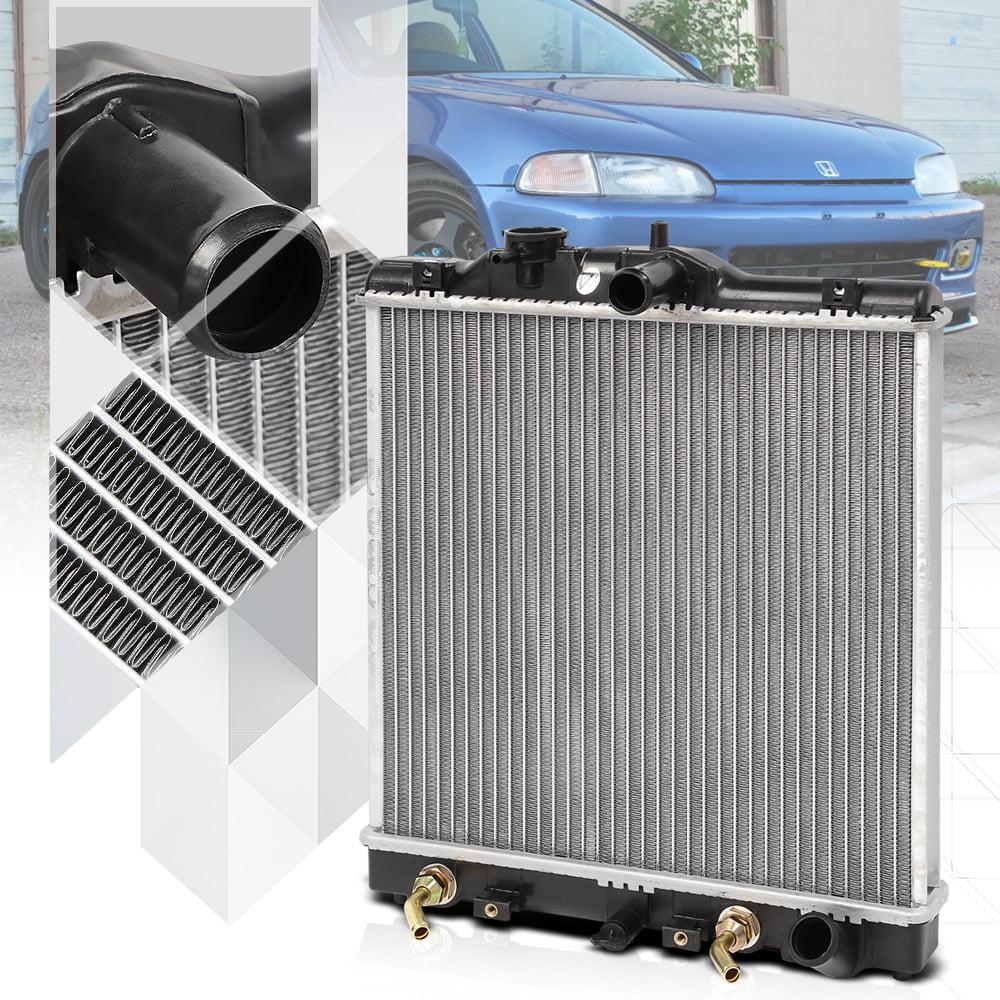 Aluminum Radiator OE Replacement for 92-00 Honda Civic/93-97 Del Sol 1.5 1.6 I4 93 94 95 96 97 98 99