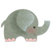 """Sizzix Originals Die 4.75""""X2.75""""-Elephant #2"""