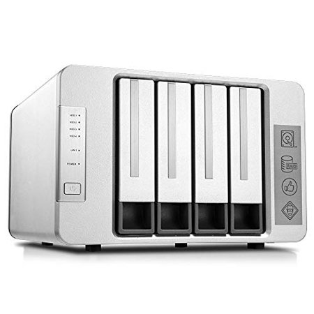 TerraMaster F4-220 NAS 4bay 2.4GHz Intel Dual Core CPU 4K Transcoding Media Server Network (Best Nas For 4k Transcoding)