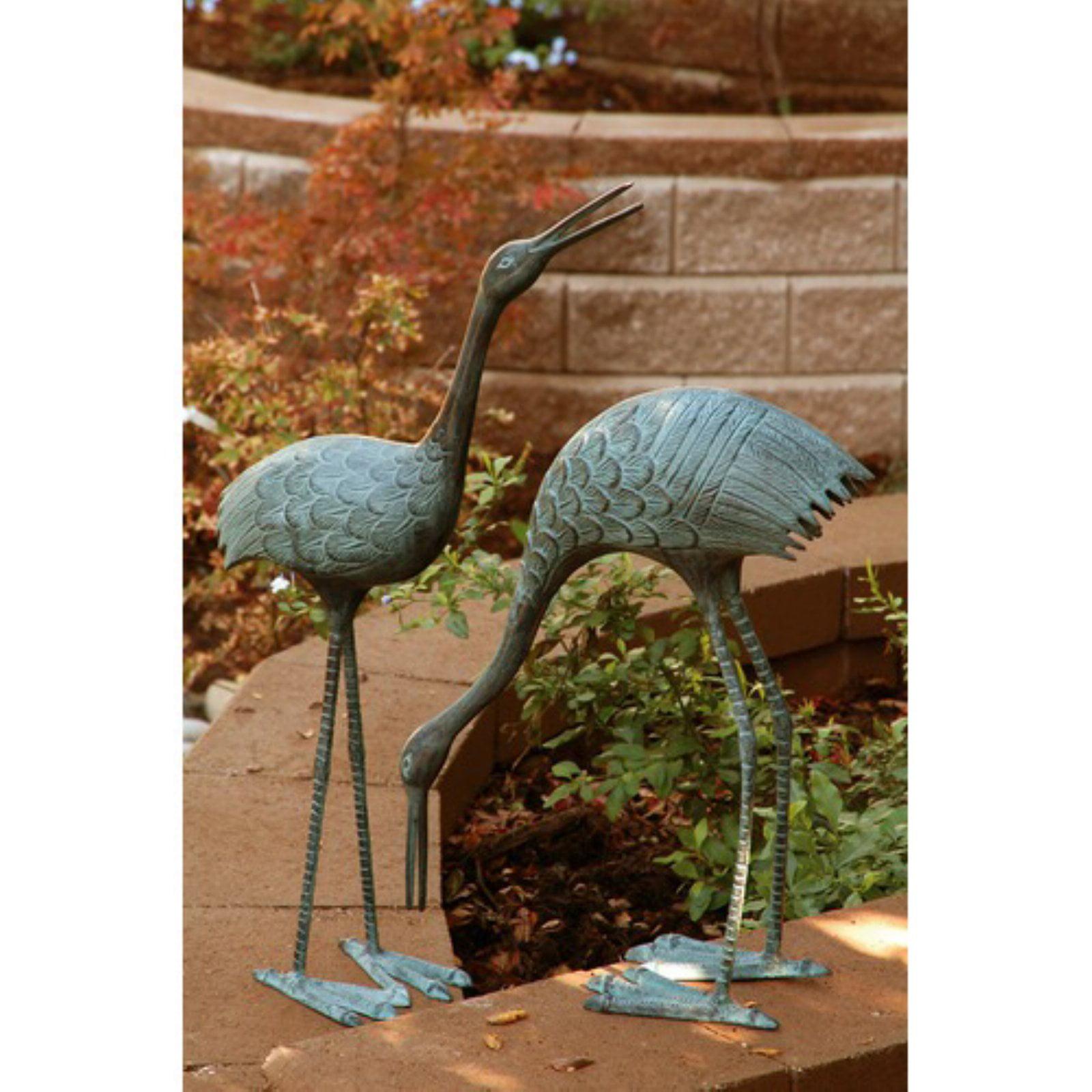 Stately Garden Cranes - Set of 2