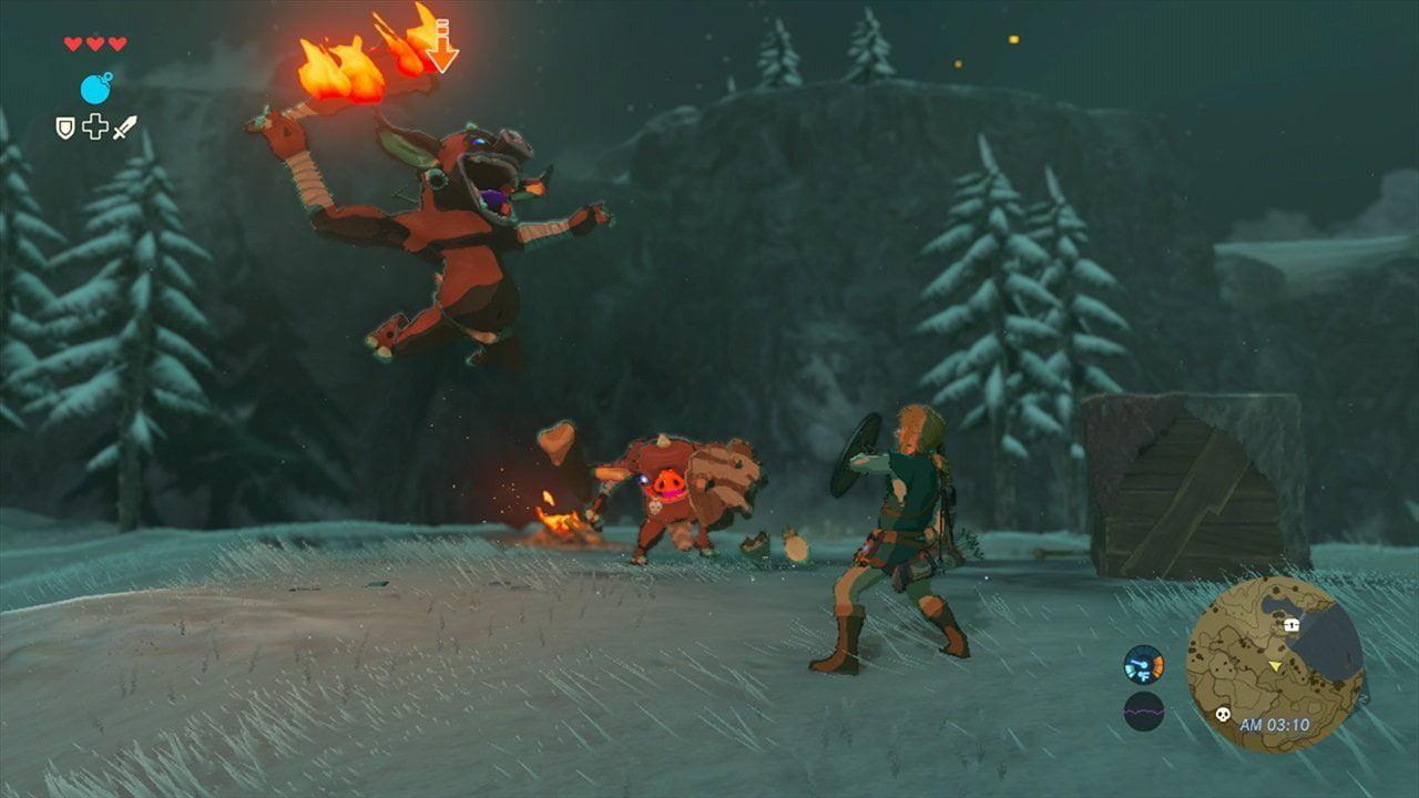 The Legend of Zelda: Breath of the Wild, Nintendo, Nintendo