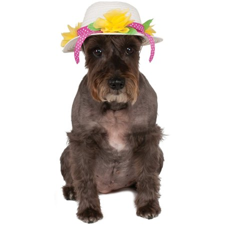 Kentucky Derby Easter Bonnet Hat For Pet Dog Costume Accessory Medium Large - Costumes For Large Dogs
