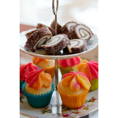 - Framed Art For Your Wall Pastry Food Cupcake Dessert Cake Miniature Food 10x13 Frame
