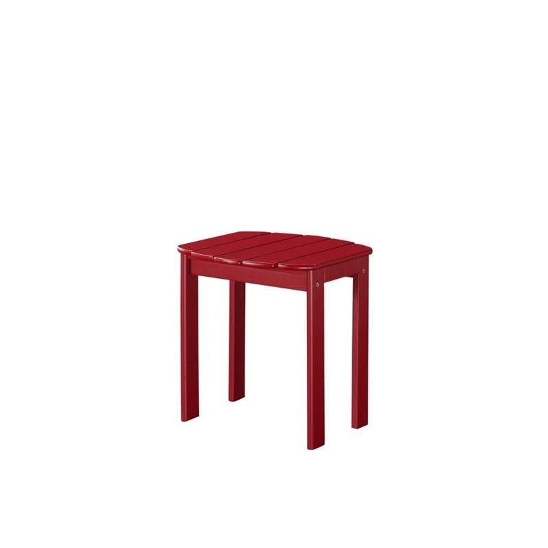 Linon Adirondack Table in Red - image 2 of 2