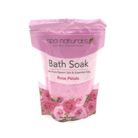 Luxury Collection Bath Soak (Rose Petals) (Rose Petal Scented Bath)