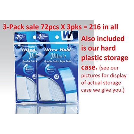 - Ultra Hold Mini Tabs Tape 3 packs= 216 tabs