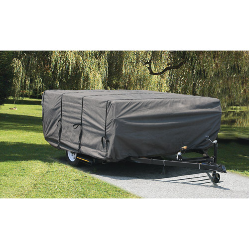 Camco UltraGuard Pop-Up Camper Cover, Gray