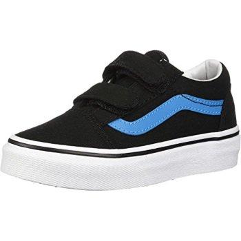 7c32178455 Vans - vans little big kids old skool v velcro skate shoe (5 m us ...