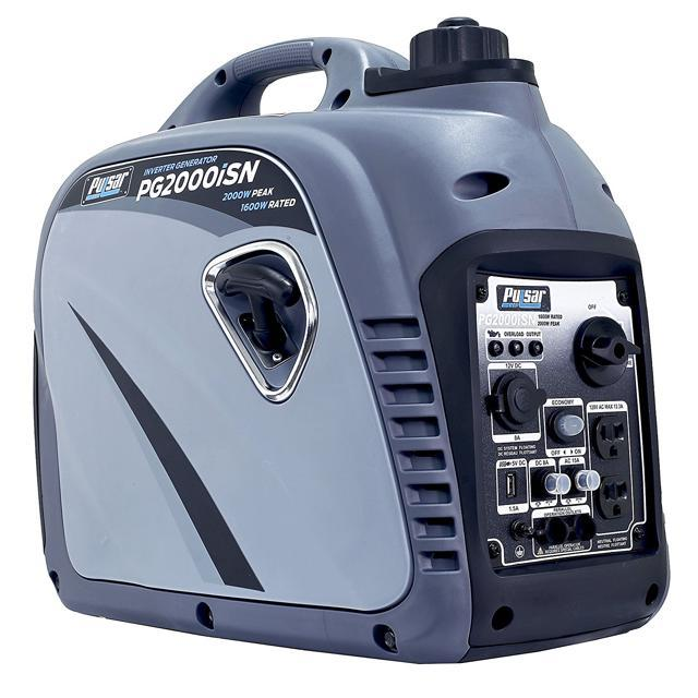 Pulsar Products PG2000iSN Grey 2000W Portable Inverter Generator