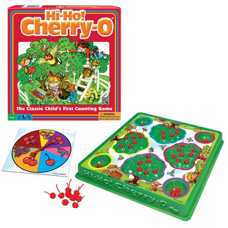 Hi - Ho! Cherry - O Board Game, Includes 1 plastic gameboard with 4 trees and buckets By Winning Moves Games](Dollar Tree Halloween Game)