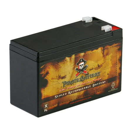 12V 7AH Sealed Lead Acid (SLA) Battery by Chrome Battery (12v Ac Nimh Battery Pack)