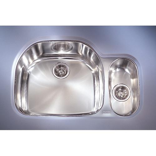 Franke PRX160LH Prestige Undermount Kitchen Sink, Stainle...
