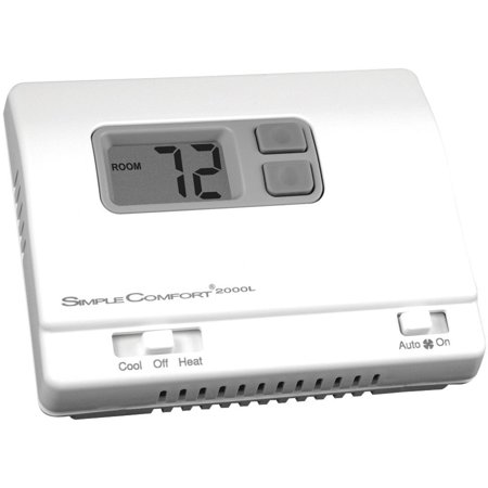 ICM SC2000L Low Voltage Thermostat, Stages Cool 1, 18 to 30VAC