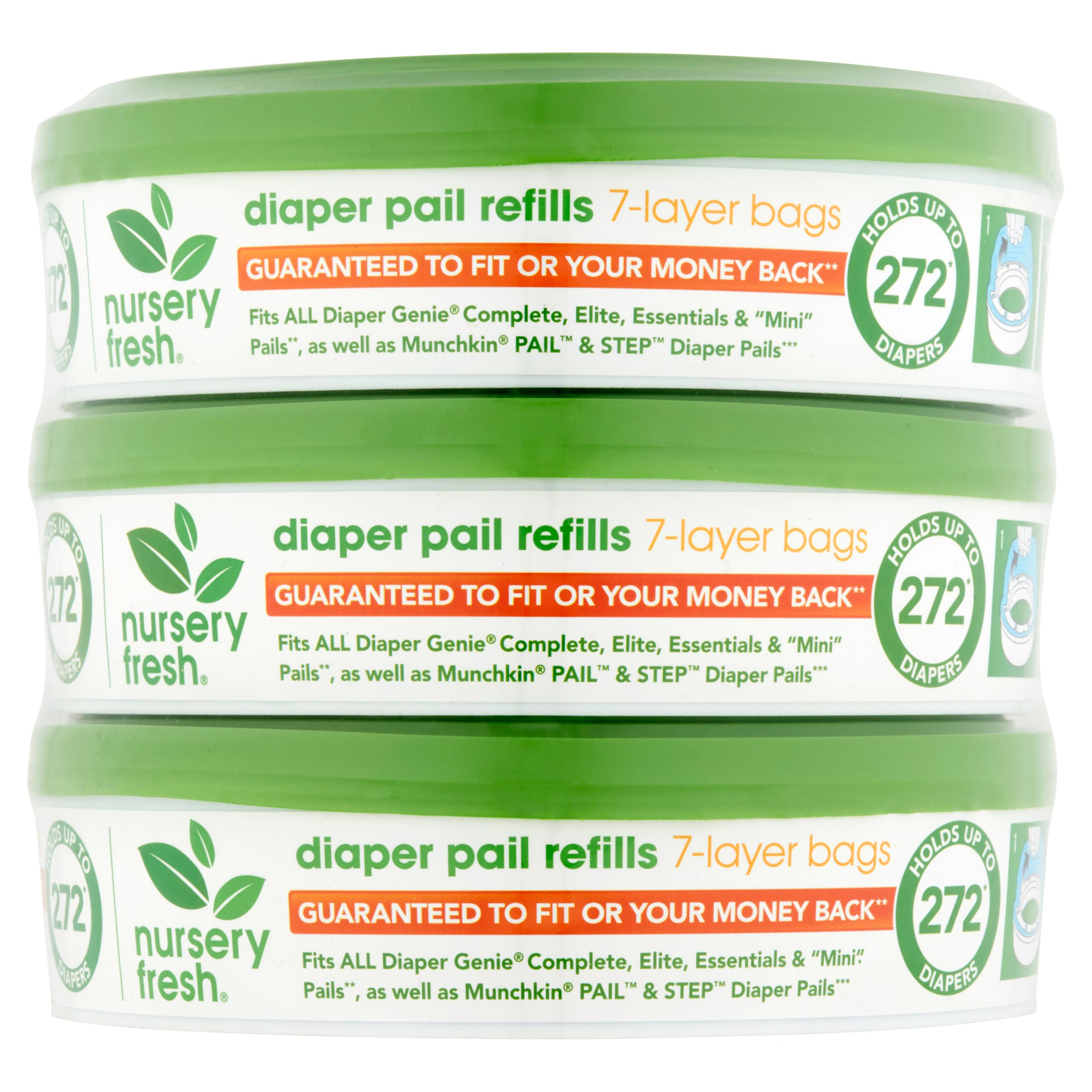 Nursery Fresh Refill For Diaper Genie 3 Pack Best