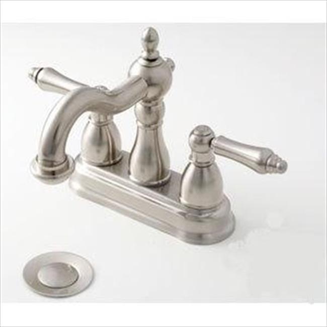 AMER BRASS NN99N 4 inch Nickel Lavatory Faucet