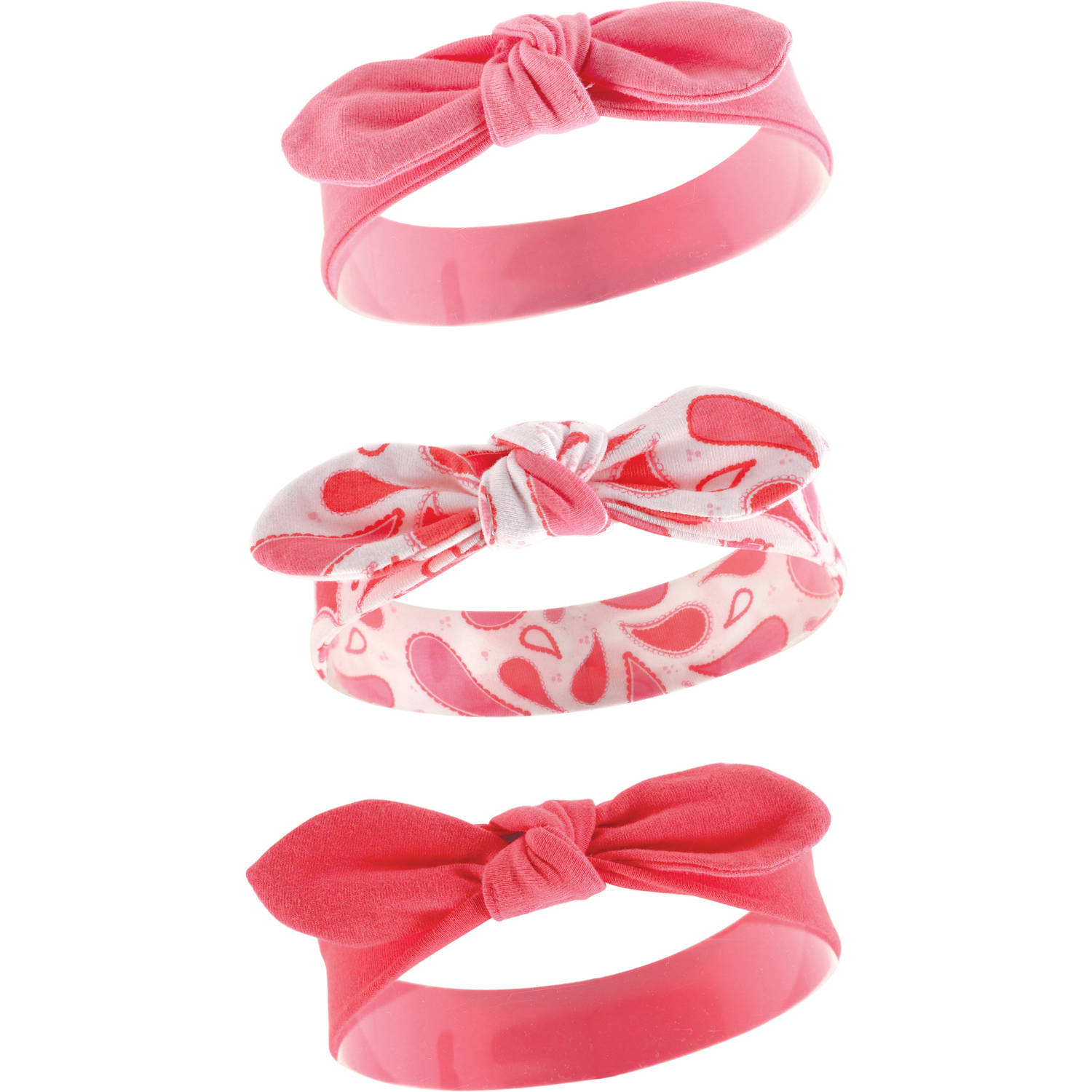 Yoga Sprout Toddler Baby Girls Headband 3-Pack - Paisley