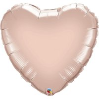 36 in. Rose Gold Heart Balloon