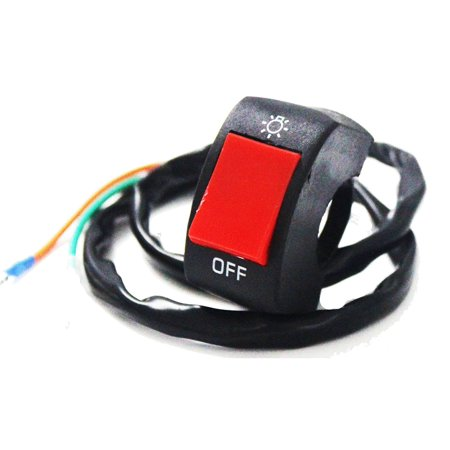 Motorcycle Bicycle Refit 22mm Handlebar Mounting Switch Button for LED Headlight - image 4 of 4