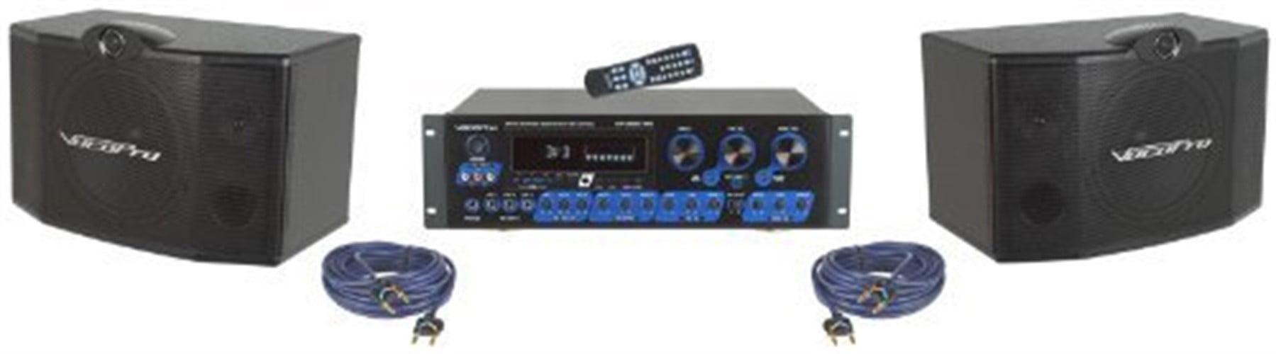 VocoPro KRS-3 Digital Karaoke Mixing Amplifier & Speaker Package by VocoPro