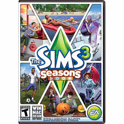Sims 3 Seasons Expansion Pack (PC/Mac) (Digital Code) Electronic Arts