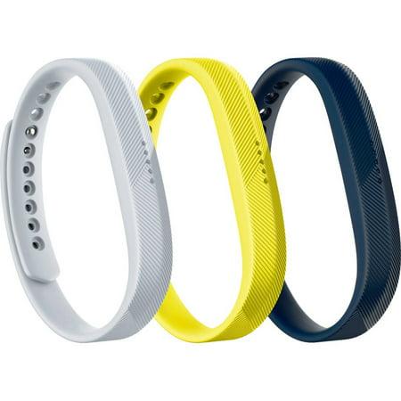 Fitbit Flex 2  Acc 3 Pack  Sport   Large