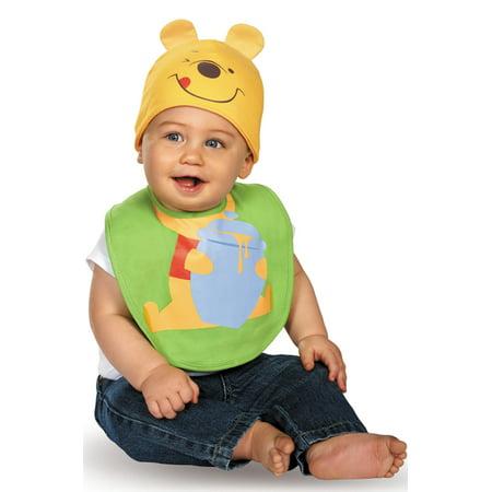 Pooh Bib and Hat (Posh Costume)