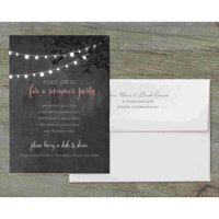 Summer Lights Deluxe Party Invites