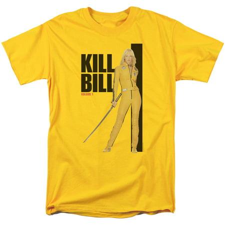 Kill Bill Yellow Suit Poster Mens Short Sleeve - Kill Bill Suit
