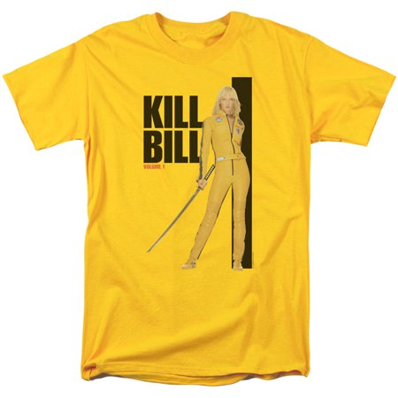 Kill Bill Yellow Suit Poster Mens Short Sleeve Shirt](Kill Bill Suit)