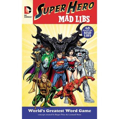 DC Comics Superhero Mad Libs by