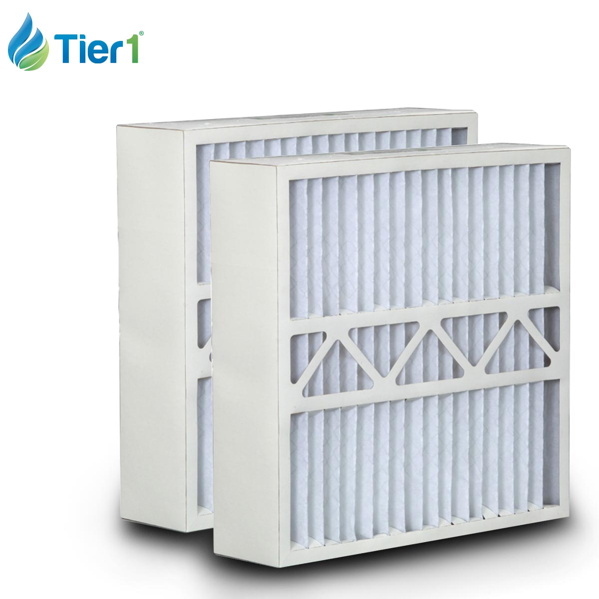 Tier1 Replacement for Carrier 19x20x4-1/4 Merv 8 AC Furnace Air Filter 2 Pack