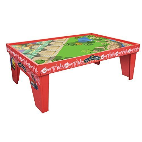Chuggington Wooden Railway Lets Ride the Rails Playtable with Playboard